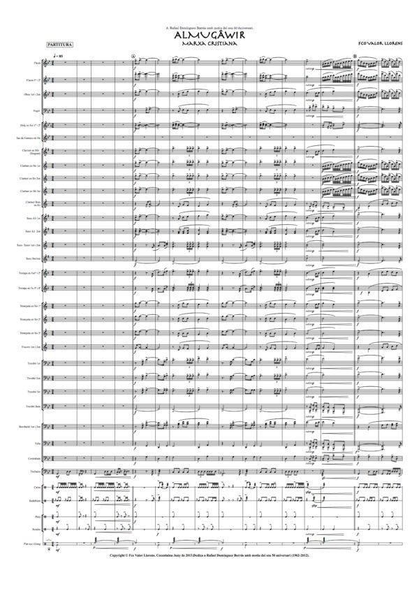 almugawir partitura